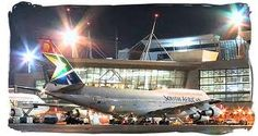 Tambo International Airport - is South Africa's principal airport - with more than 50 percent of the country's air passengers passing through** Africa Map, Africa Travel, Johannesburg Airport, Airport Car Rental, South African Homes, South Africa Tours, World Cities, International Airport, Travel Tips