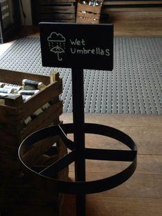 Stand for umbrellas at #Starbucks #TMOtrenddag