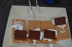 S'mores with Ghiradelli Chocolate