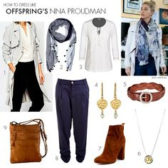 How to dress like Offspring's Nina Proudman. Series Episode 3 saw Nina embrace the trench coat. Let's recreate her look and de-brief what happened. Style Hippie Chic, Bohemian Mode, Gypsy Style, My Style, Bohemian Style, Boho Chic, Work Fashion, Retro Fashion, Fashion Outfits
