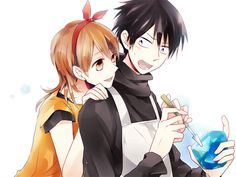Shiori and Suga