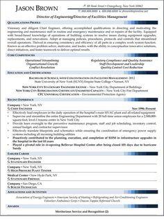 facility manager resume resumecompanion com resume samples
