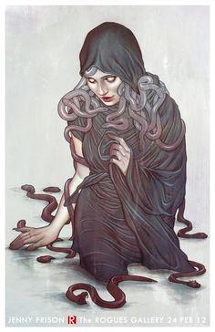 Medusa by Jenny Frison