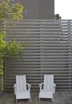 Awesome Modern Front Yard Privacy Fences Ideas - All For Garden Modern Front Yard, Front Yard Fence, Diy Fence, Modern Fence, Fence Ideas, Farm Fence, Fence Gate, Small Fence, Small Patio