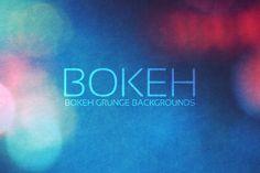 Bokeh Grunge Backgrounds II by Digital ART on Creative Market