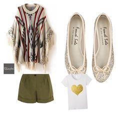 """""""gold beach"""" by donnamariepollard on Polyvore featuring Burberry and Relaxfeel"""