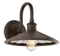 Buy the Troy Lighting Brooklyn Bronze Direct. Shop for the Troy Lighting Brooklyn Bronze Brooklyn 1 Light Wall Sconce with Vintage Edison Bulb and save. Antique Mirror Glass, Vintage Wall Sconces, Rustic Wall Sconces, Bathroom Wall Sconces, Modern Wall Sconces, Antiqued Mirror, Vintage Lamps, Bathroom Fixtures, Troy Lighting