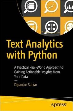 Beautifully illustrated ebook that teaches python programming text analytics with python a practical real world approach to gaining actionable insights from your data free ebook fandeluxe Images
