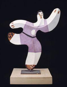 "Pablo Picasso, ""Footballeur"" (1961) RMN-Grand Palais Musée Picasso de Paris."