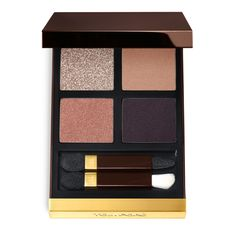 The Most Flattering Eye Shadow Color You're Probably Not Wearing - Tom Ford Eye Color Quad in Disco Dust - from InStyle.com