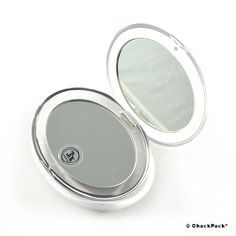 Becker Manicure Reise-Kosmetikspiegel 8cm mit 3-fach Vergrößerung | ChackPack.com