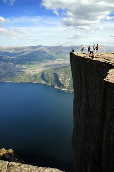 Preikestolen, Norway (Just Jump already!)