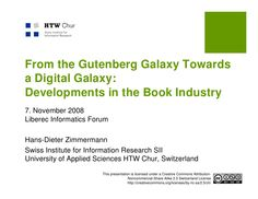 End of Gutenberg Galaxy