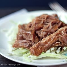 Slow Cooker Pulled Pork Recipe - Low Carb and Gluten Free