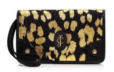 Juicy Couture Beverly Leopard Tech Wristlet