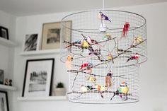 Double Birdcage Pendant Light Chandelier