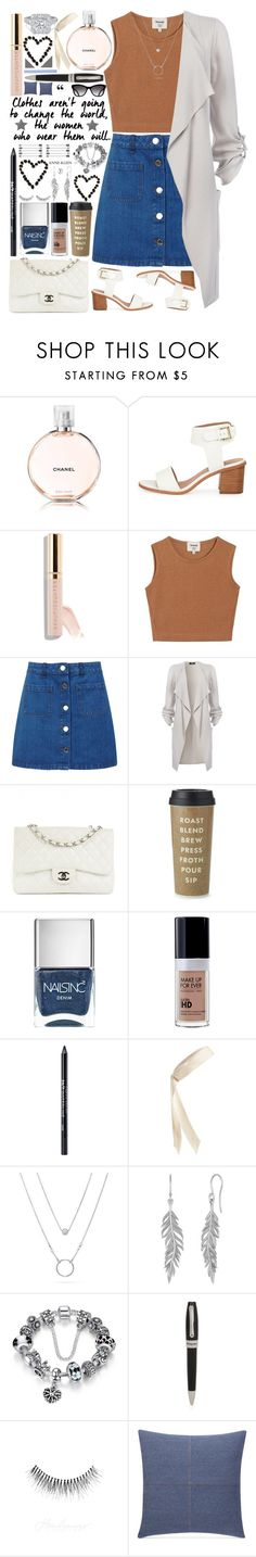 """""""Change the world"""" by weerala ❤ liked on Polyvore featuring BEA, Samuji, Miss Selfridge, Chanel, Kate Spade, Nails Inc., Urban Decay, L. Erickson, Montegrappa and Sure Fit"""