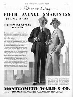 Men's Fashion: May 4, 1930