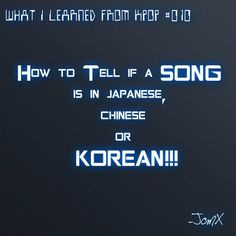 NAILED IT!!..... I knew what Japanese sounded like before Korean but now I know both so it's cool
