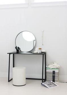 Target's Room Essentials:   1 piece / 3 ways Folding desk from Target