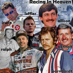 this was requested with these names done hope everyone enjoys this racing in heaven wallpaper i created  Black Lightning kenny irwin jason leffler davey allison neil bonnett ralph earnhardt ralph dale earnhardt sr alan kulwicki