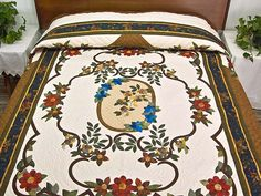Rose of Sharon Quilt -- marvelous carefully made Amish Quilts from Lancaster (hs5243)