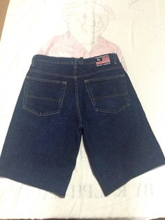 New to MajorDivision on Etsy: Vintage Polo Ralph Lauren Jean Shorts Size 32 X 30 (15.00 CAD)