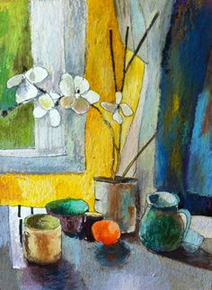 Still life in the kitchen. Bénédicte Garnier-Fihey