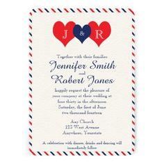 4th Of July Wedding Invitation Bridal Shower Invitation July