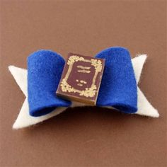 Belle's Book Hair Bow - Spiffing Jewelry - Disney - Beauty and the Beast