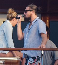 Leonardo DiCaprio's Titanic New Year party goes on aboard super ...
