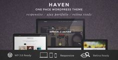 Download and review of Haven - Elegant One Page WordPress Theme, one of the best Themeforest Creatives themes {Download & review at Review and download at} { -> }http://best-wordpress-theme.net/haven-elegant-one-page-download-review/