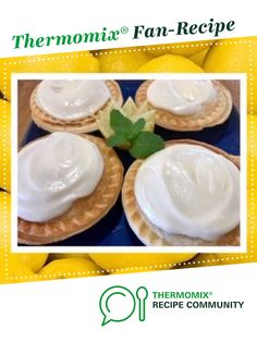 Recipe Pie-maker lemon custard pies by thermifyme, learn to make this recipe easily in your kitchen machine and discover other Thermomix recipes in Baking - sweet. Lemon Custard Pie, Custard Pies, Pie Recipes, Sweet Recipes, Frozen Puff Pastry, Mini Pies, Bellini, Pavlova, Pie Dish