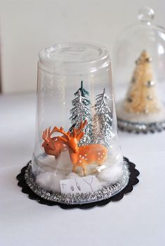 DIY Christmas decoration by rebeccalefeuvre, via Flickr