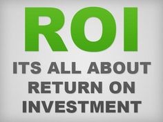 No matter how hard you work for increasing the profits from your stock investments, you would never be able to predict a fixed value due to the volatility and dynamicity of the stock #market. The best way to understand the performance of your strategy and your #investments is to calculate the #ROI which is expressed as a percentage that is indicative of positive or negative trends.
