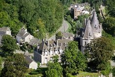 Tourelles castle in Durby, Belgium - known as the smallest town on earth, but also one of the prettiest and renowned for its excellent food.