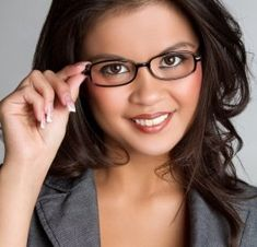 square shaped glasses for round face - Google Search