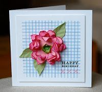 Stampin' Up ideas and supplies from Vicky at Crafting Clare's Paper Moments: Tutorial - 5 petal punch flower