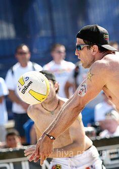 AVP Men's Beach Volleyball Tournament at Huntington Beach