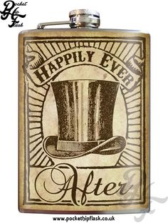 Look at this Trixie & Milo 'Happily Ever After' Groom Stainless Steel Flask on today! Groomsmen Flask, Groomsman Gifts, Wedding Alcohol, Blue Door Boutique, Inked Shop, Custom Art, Happily Ever After, That Way, High Gloss