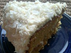 gluten free coconut layer cake