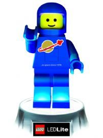 Lego Blue Spaceman LED Torch and Night Light