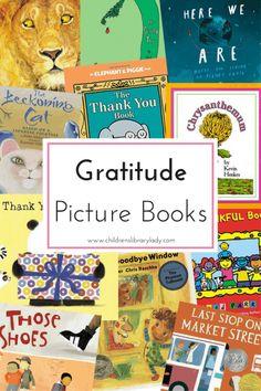 Gratitude Picture Book List