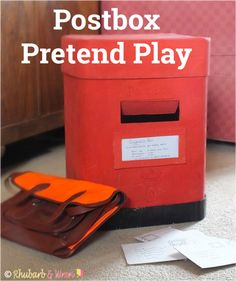 Kids love playing with homemade postboxes and letters. Give them a bag, and…