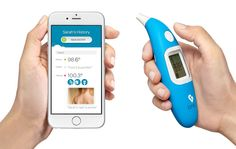 Le nouveau thermomètre intelligent Kinsa vous dit quoi faire quand vous êtes malade