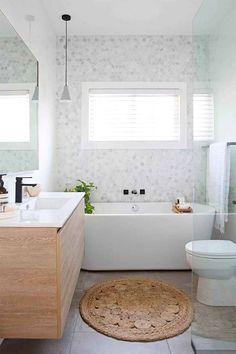 Fresh Bathroom & Modern Powder Room Reveal - Interior Design Ideas & Home Decorating Inspiration - moercar