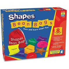 diy bean bag toddler learning activities | ... Insights Shapes Bean Bags at Cool Gifts for Kids Store instantly
