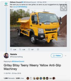 Gritsy bitsy teeny weeny yellow anti-slip machiney