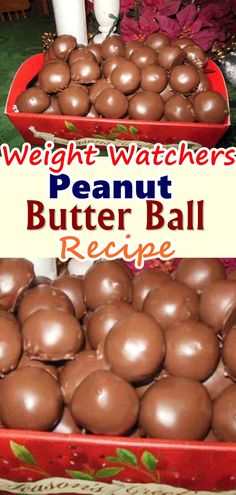 Peanut Butter Ball Recipe These were great. After dipping, I sprinkled with pecans and coconut! Very easy. Tip: Put balls in freezer to firm before dipping. Makes it much easier Don't forget to Pin this so it will be SAVED to your timeline! Skinny Recipes, Ww Recipes, Candy Recipes, Diabetic Recipes, Cooking Recipes, Quick Recipes, Weight Watcher Desserts, Weight Watchers Meals, Pastries