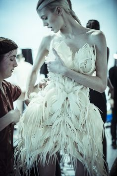 The Dress Is 3D-Printed (Like They Do in Paris)